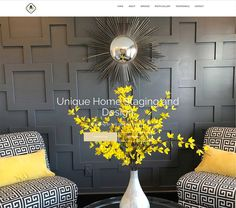 RgB Design Group Completes A New Website Project For Unique Home Staging. Design Development, Home Staging, Branding, Graphic Design, Marketing, Group, Website, Unique, Projects