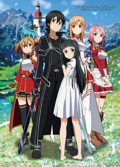 Asuna, Kirito, & Yui are my favorites :)