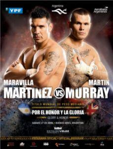 Sergio Martinez vs Martin Murray - April 27th on HBO