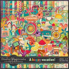 Blagovesta Gosheva Blog: A Happy Vacation Collection