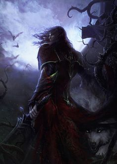 Castlevania: Lords of Shadow 2, my husband and I can't wait to get this game when it comes out