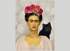 remember Frida Kahlo von Sonja Zeltner-Mueller auf Etsy