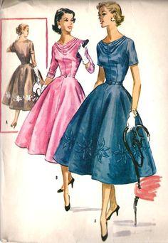 1950s Misses Party Dress