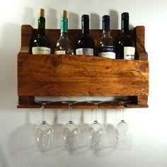 Beautiful Wine Rack Installation