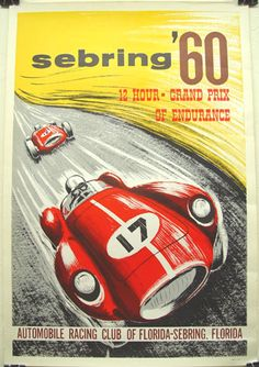 Vintage Auto Racing Posters on Vintage Auto Posters