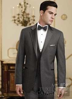 19 best In Style: Grey Tuxedos & Suits images on Pinterest | Grey ...
