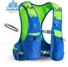 AONIJIE Men Women Outdoor Bags Hiking Backpack Vest Marathon Running Cycling Backpack Bag 10L Optional Bottle Water Bag  #Affiliate