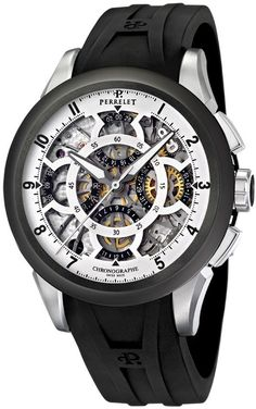Perrelet Skeleton Chronograph Mens Watch Model: A1056.1