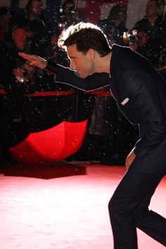 Mika Penniman on the red carpet at the NRJ Music Awards - Palais des Festivals, January 28, 2012 in Cannes, France