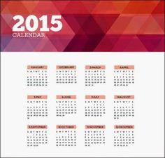 10 calendarios 2015 editables y listos para imprimir : Recursos Gratis En Internet