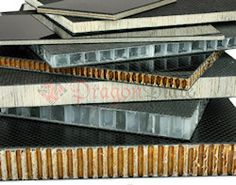 Dragonplate Carbon Fiber Sheets with birch core, balsa core, honeycomb core, and foam core.