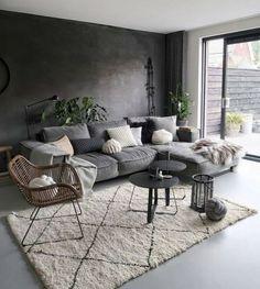 Living Room Colors, Living Room Grey, Living Room Modern, Home Living Room, Living Room Designs, Living Room Decor, Cozy Living Rooms, Home Room Design, House Design