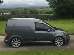 My Caddy on wheels and gti front Volkswagen Caddy Van, Volkswagen Touran, Rims For Cars, Vw Cars, Vw Caddy Maxi Life, Vw Caddy Tuning, Vw Transporter Camper, Gti Mk7, Cool Vans