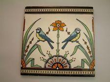 Rare 1870 Mintons- Jardiniere Tile possibly designed  by Dr Christopher Dresser