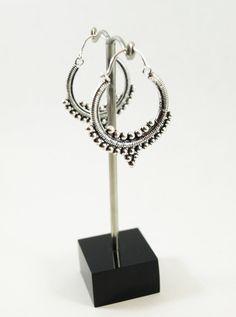 Silber vergoldet Ohrringe Tribal Ohrringe Zigeuner von BySinuhe