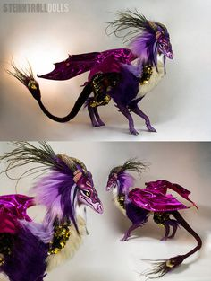 Velia the Autumn Dragon art doll by on DeviantArt Cute Creatures, Magical Creatures, Fantasy Creatures, Clay Dragon, Dragon Art, Fantasy Dragon, Fantasy Art, Mobiles, Dragon Dreaming