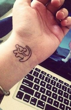 Small but cute, ankle instead of wrist