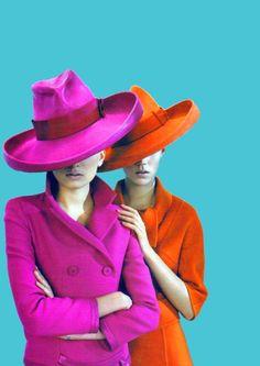 Hot hats! #hats #color