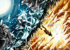 Naruto vs Saskue....... Light vs Dark....... Good vs Evil...... Friend vs Friend
