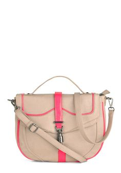 Stopped by to Say Highlighter Bag | Mod Retro Vintage Bags | ModCloth.com