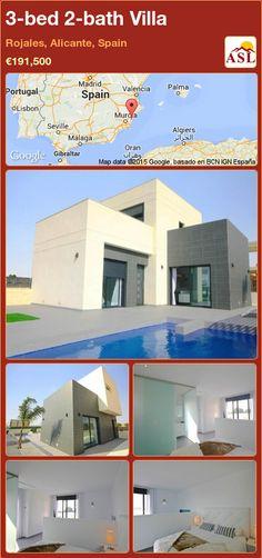 3-bed 2-bath Villa in Rojales, Alicante, Spain ►€191,500 #PropertyForSaleInSpain