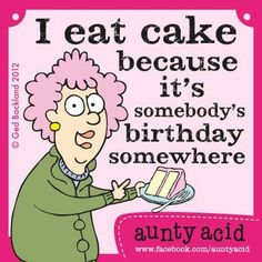 Aunty Acid Jokes | Aunty Acid/ THIS OLE GAL IS SOOOO SMART. GOTA LOVE HER WISDOM AND ...