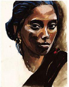titouan lamazou, femmes du monde