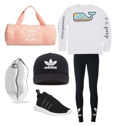 """""""Untitled #18"""" by mia-starr-zamora on Polyvore featuring Vineyard Vines, adidas Originals, adidas, STELLA McCARTNEY and ban.do"""