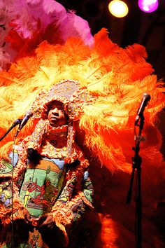 Big Chief Bo Dollis and the Wild Tchoupitoulas by High ISO Music, via Flickr