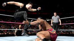 Raw 10/28/13: Dean Ambrose vs Big E. Langston - United States Championship