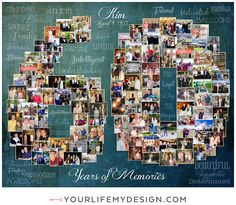 Birthday Photo Collage, Birthday Photos, 60 Birthday, Heart Collage, Photography Collage, 60th Anniversary, Milestone Birthdays, Horse Care, Your Life