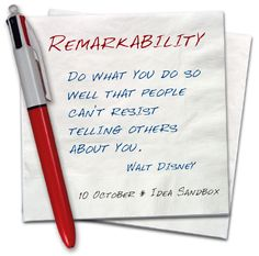 Walt Disney Remarkability quotables-and-printables Great Quotes, Quotes To Live By, Me Quotes, Motivational Quotes, Inspirational Quotes, Wealth Quotes, Success Quotes, Funny Quotes, Great Words