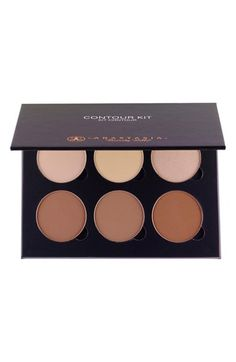 pretty contour and highlight palette