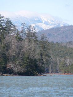 Winter on Lake James, NC.