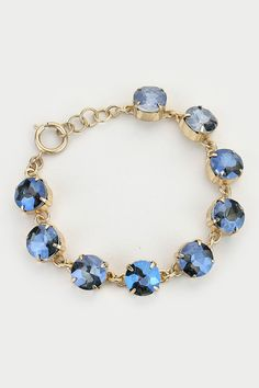 Crystal Avi Bracelet in Midnight