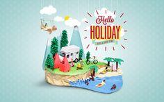 Hello Holiday on Behance