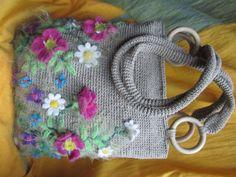 Летняя сумочка из ниток для сшивания документов + чехол для телефона - Ярмарка Мастеров - ручная работа, handmade
