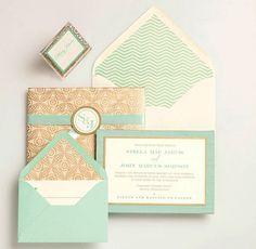 Wedding Inspiration :: Mint Green | Modern Weddings