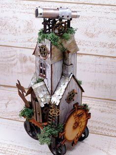 Villagemanor by Tim Holtz - Steampunk House