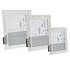 Debenhams Silver delicate diamante photo frame- at Debenhams Mobile