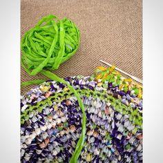 #creaenverde #crocheting #crochet #upcycling #reciclado