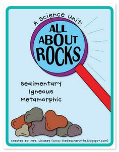 Rocks. I wonder if I could convert this to a child-led Homeschool lesson appropriate for my rock-loving preschooler...