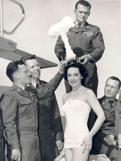 Miss Atomic Bomb, 1950 ~ Strange Vintage Beauty Pageants  What girl doesn't dream of one day wearing a mushroom cloud tiara?
