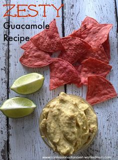 Recipe // Easy Guacamole Recipe You Can Make In Minutes