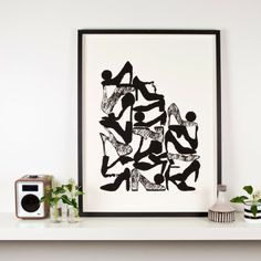Always Room For More - Limited Edition Screen Print by Maria Hatling. Edition size 50