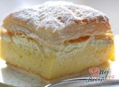 Babiččiny perníkové řezy | NejRecept.cz Thing 1, Strudel, Pavlova, Camembert Cheese, Hamburger, Cheesecake, Food And Drink, Pudding, Bread