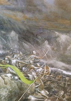 The Battle of Five Armies (Alan Lee)