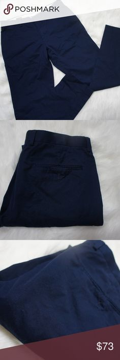 J. Crew Ludlow slim navy pants 31x32 In great condition slim navy pants from J. Crew.  Simple staple in anyone's closet from a trusted stylish name. J. Crew Pants Chinos & Khakis