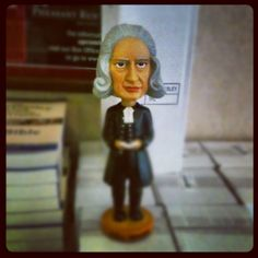 Two questions:  They make John Wesley bobbleheads?  And where can I get one?
