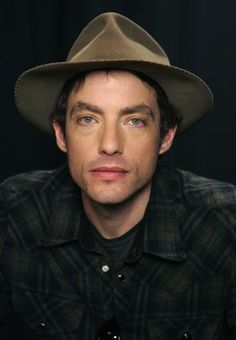 The 47-year old son of father Bob Dylan and mother  Sara, 176 cm tall Jakob Dylan in 2017 photo